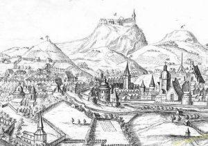 високий замок та княжа гора в X столітті