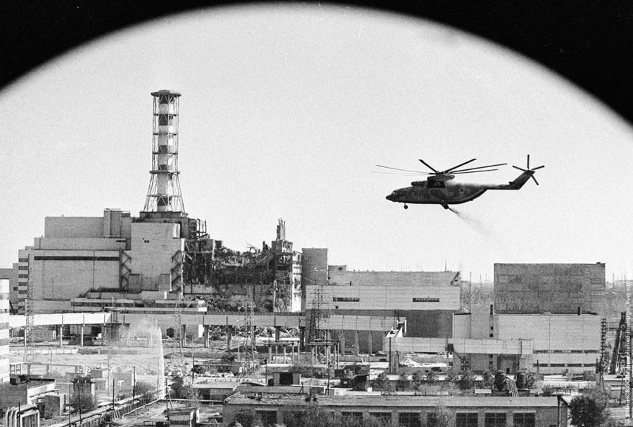 Чорнобиль - історія ліквідації.
