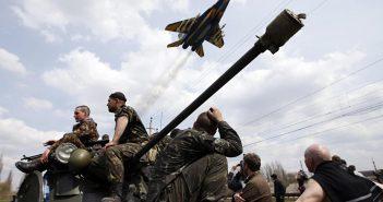 воєнний військовий стан в АТО на Донбасі