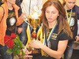 Керівники області привітали «Галичанку» з чемпіонством у жіночій Суперлізі