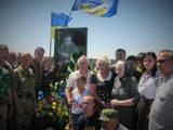 У Чернігові відкрили пам'ятник капітанові ЗСУ Олексієві Коновалову