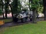 Біля облради у Львові помітили два бронеавтомобілі