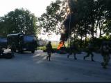 В соцмережу просочилось відео блокпосту силовиків під Стриєм для відлову бійців ПС