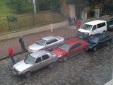 Аварія за участю трьох машин спричинила корок на Стрийській