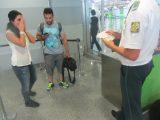 У аеропорту «Бориспіль» офіцери ВВБ прикордонного відомства виявили двох громадян Ірану з підробленими документами