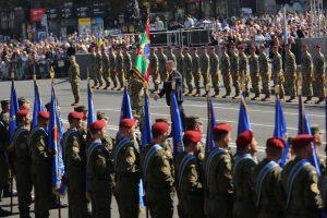 Президент України вручив бойові прапори прикордонним підрозділам та прийняв парадний розрахунок українських військових (фотозвіт)