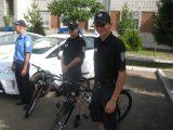 Вулиці Трускавця патрулюють міліціонери на велосипедах