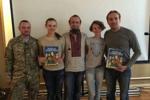 На Форумі видавців дітей учасників АТО познайомили  з українськими супергероями
