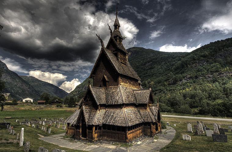Боргундська ставкірка, Норвегія