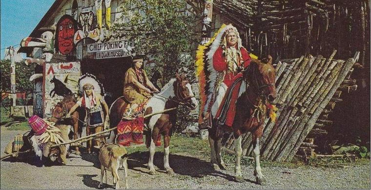 Індіанський вождь, народжений під Полтавою