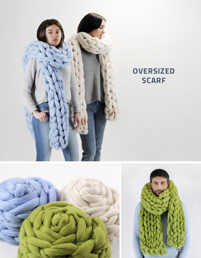 шарфи з мериноса