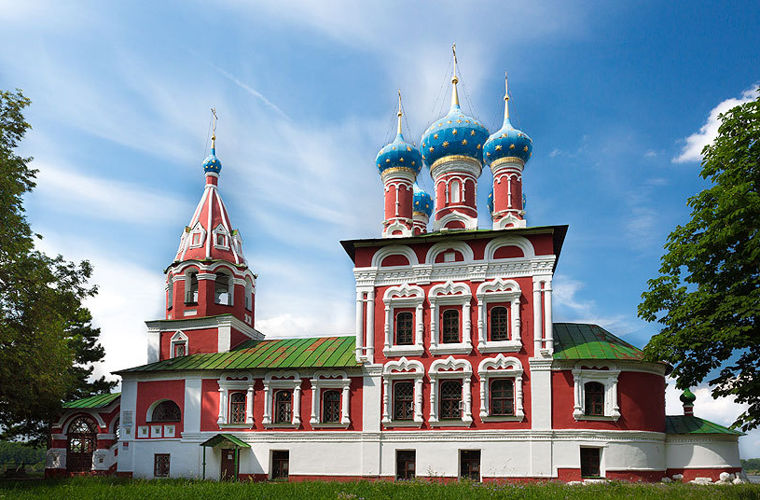 Церква Димитрія на крові, Росія