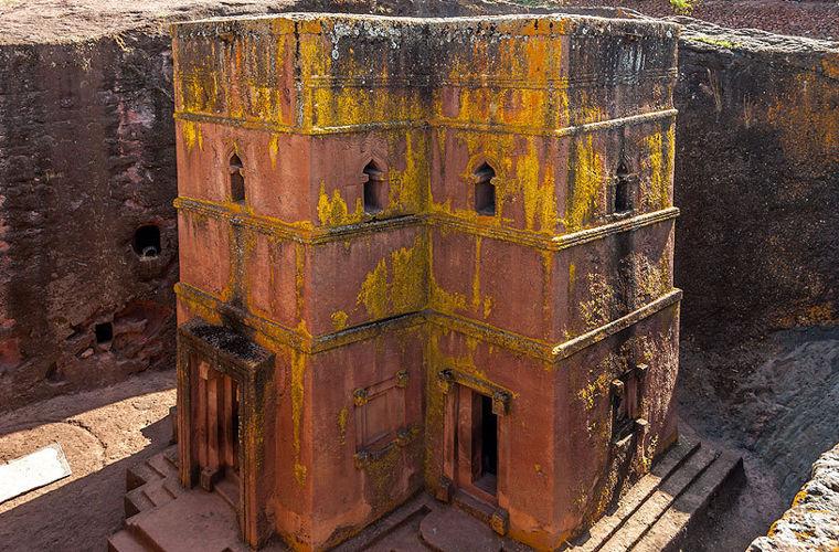 Церква Святого Георгія, Ефіопія