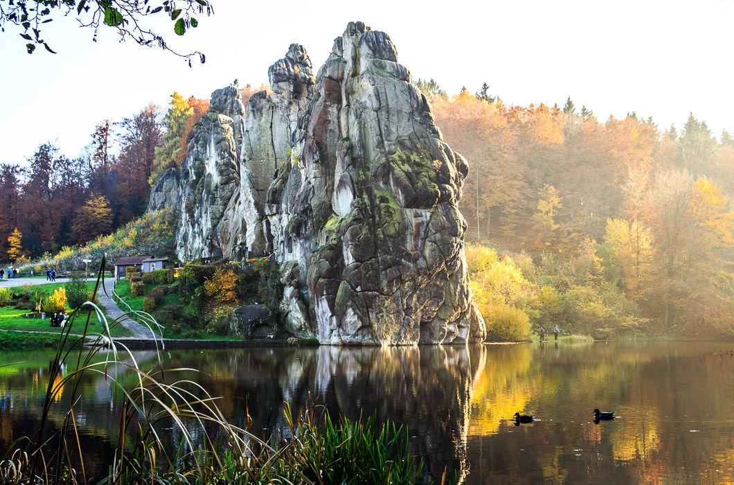 Екстернське каміння, Німеччина