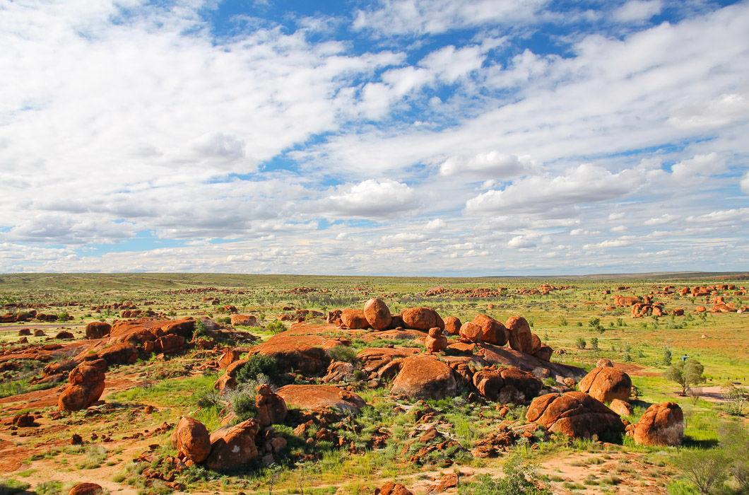 Мармурові камені Диявола, Австралія