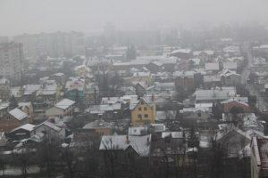 Затори, аварії, травмовані перехожі: у Львові випала ложка снігу