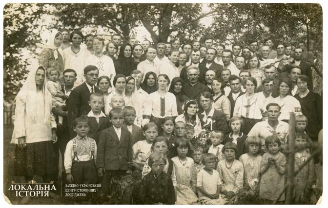 Весілля в м. Глиняни Перемишлянського п-ту Тернопільського в-ва, 1930-ті рр.