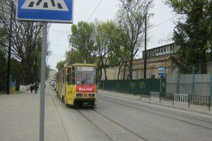 Трамвайний рух на реконструйованій лінії на Підзамче відкрито