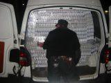На Закарпатті зловмисник намагався прорватися через кордон із 57 тисячами пачок цигарок