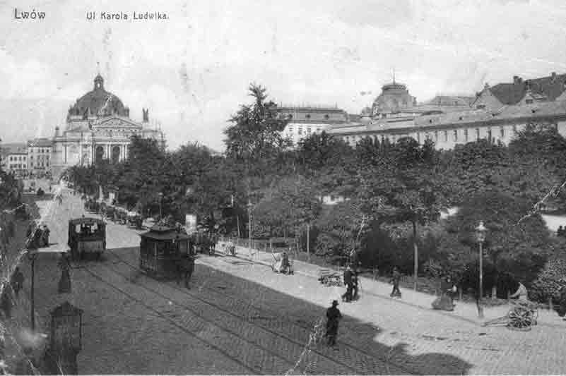 1880 травень — у Львові вперше в Україні запрацював кінний трамвай.