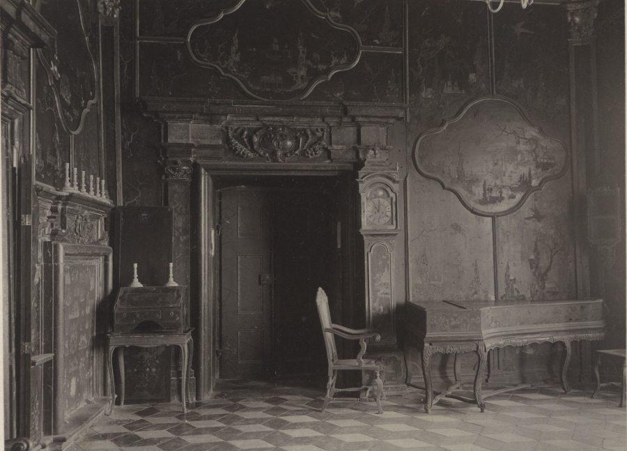 Китайський Кабінет в Підгорецькому замку. Фото 1910 року