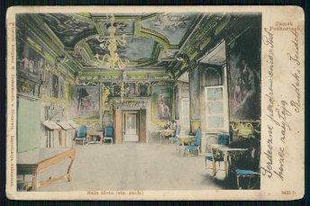Zamek-w-Podhorcach-Sala-Zlota-str.-zach..-1901