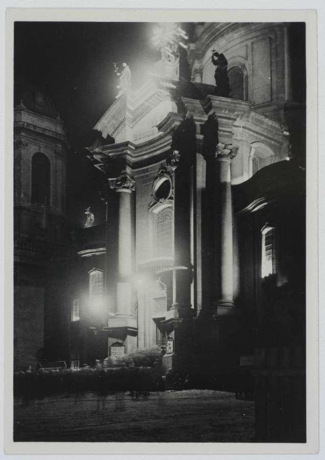 Ілюмінація Домініканського костелу, 1930 – ті рр.