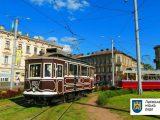 У День Незалежності України раритетні трамваї проїдуть Львовом урочистим парадом