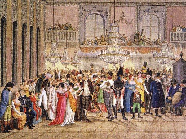 Франц Ксаверій Герстенбергер. Бал у редутовій залі (1805)