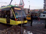 Сихівський трамвай потрапив у першу ДТП