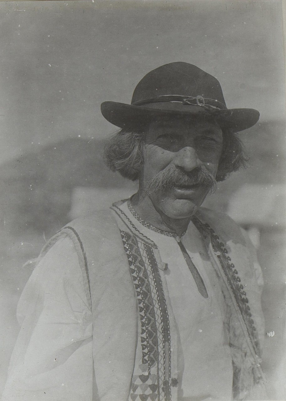 Бессарабський циган. Бессарабія, початок 20 століття.