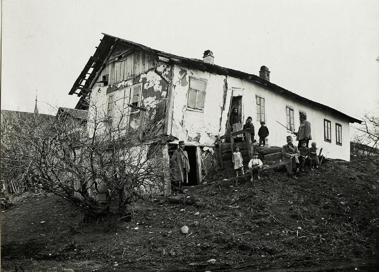 Будинок в Калуші. Галичина, початок 20 століття.