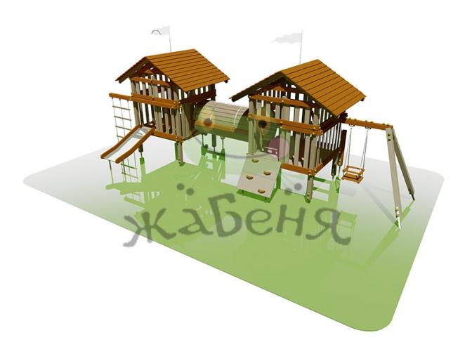 Дитячий ігровий майданчик для рухової активності дітей ДНЗ №37