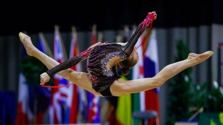Гімнастка Христина Погранична продовжує завойовувати нагороди.