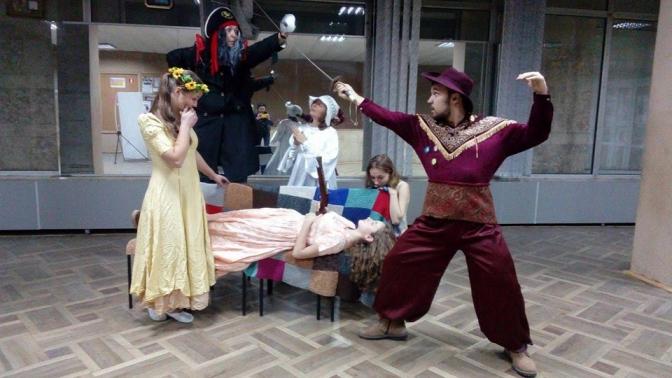 Фото з репетиції театру«Domus»