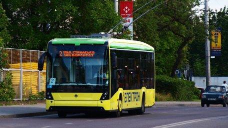 Львів збудує за кошти ЄІБ дві нові тролейбусні лінії