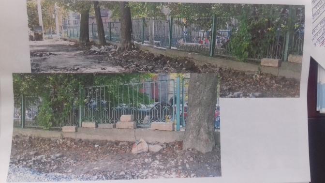 Облаштування огорожі території Львівської спеціалізованої школи № 8 до 200-річчя школи