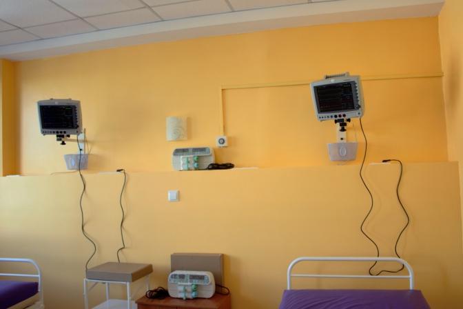 Сучасне обладнання для дитячої реанімації міської лікарні