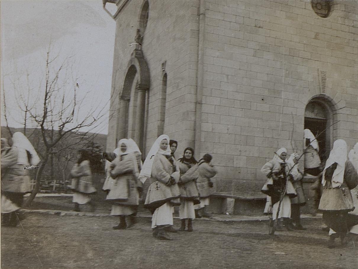 Уніатська церква в Дорошівці, Галичина, початок 20 століття.