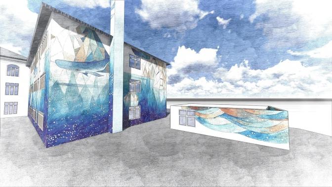 Утеплення стін, ремонт даху та облаштування внутрішнього фасаду школи №57