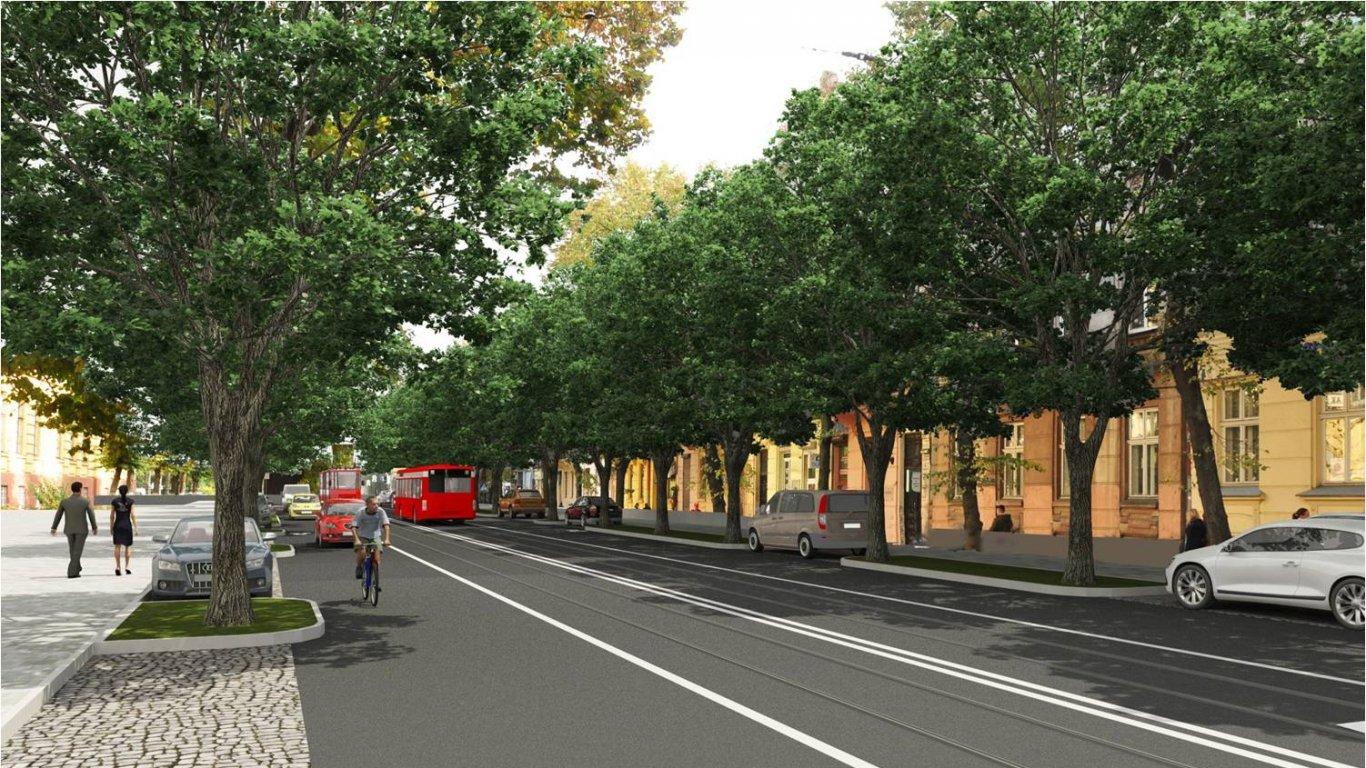 Варіант №2: велосипедисти їздитимуть по дорозі