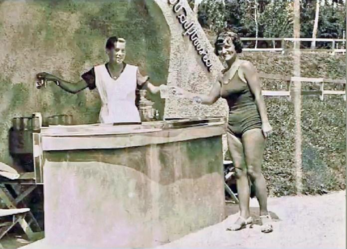 Джерело «Нафтусі» на курорті «Помярки», до 1939 р.