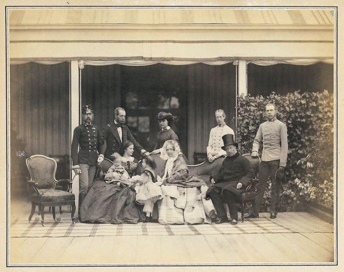 Франц-Йосип І у родинному колі