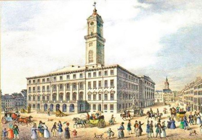 львівська ратуша історичне фото