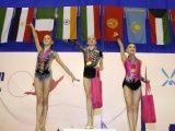 13-річна гімнастка зі Львова стала абсолютною чемпіонкою на змаганнях в ОАЕ