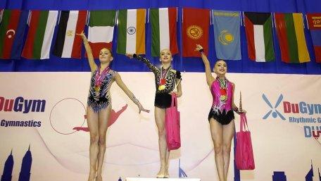 Христина Погранична завоювала одразу чотири золоті нагороди на змаганнях в Дубаї.