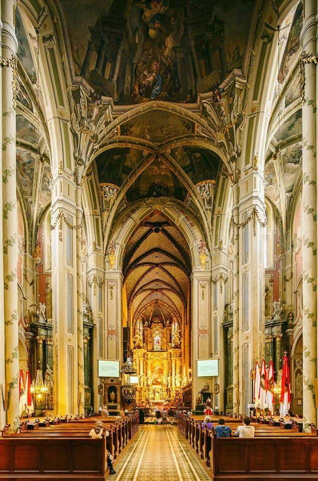 Інтер'єр Латинського кафедрального собору © Ян Волянский
