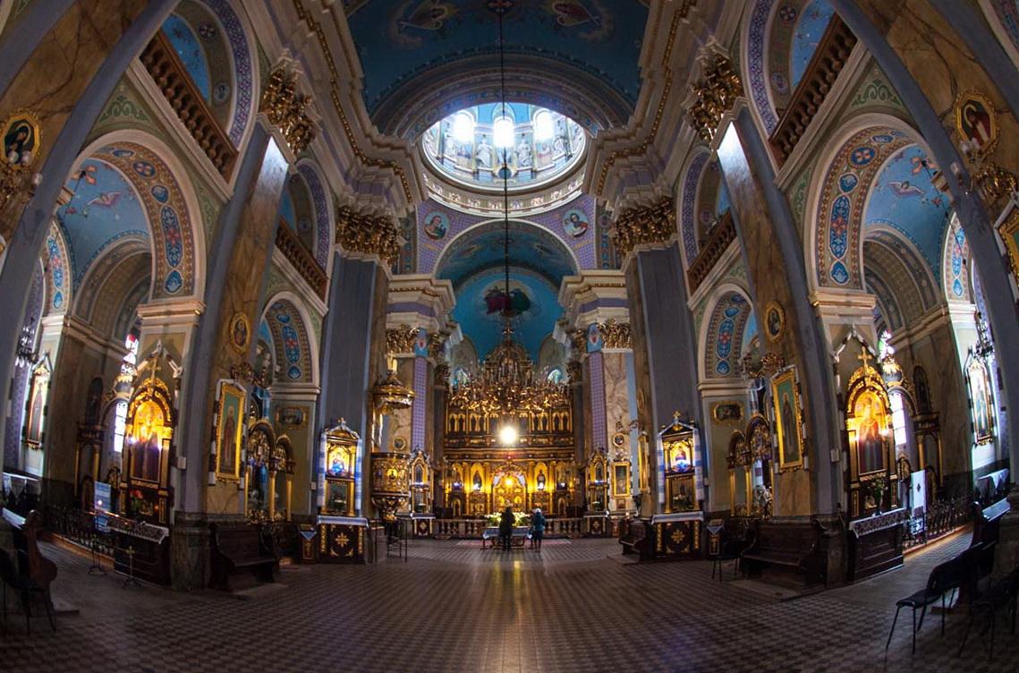 Інтер'єр Преображенської церкви