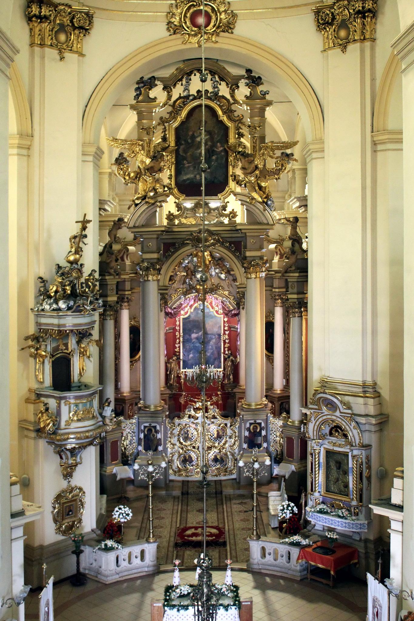 Інтер'єр собору Св. Юра