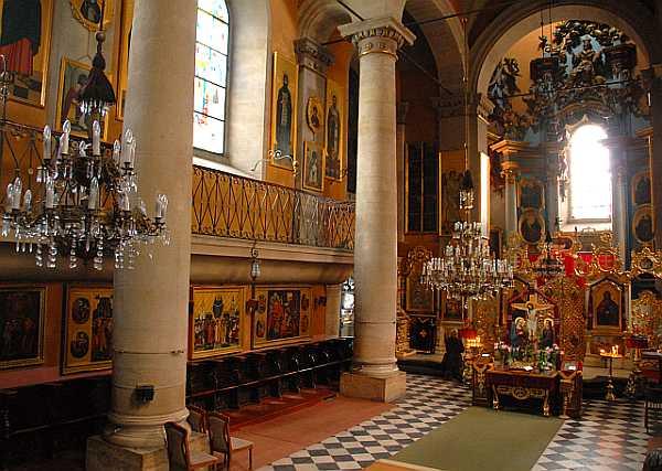 Інтер'єр Успенської церкви